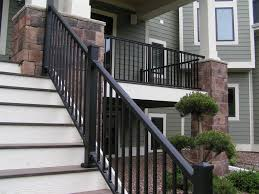 wrought iron stair kits outdoor look attractive exterior stair