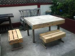 Make Outdoor Picnic Table by 298 Best Tuinmeubelen Images On Pinterest Pallet Ideas Diy And Wood