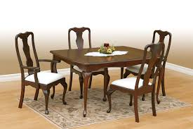 Dining Chair Cherry Exciting Queen Anne Cherry Dining Room Set 44 With Additional