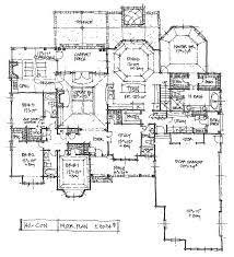 open ranch style floor plans buat testing doang three bedroom three bath house blueprint