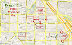 Map Of Atlanta Area by Epbot Dragon Con 2017 Survival Tips