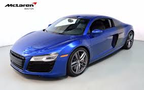 audi r8 chrome blue 2014 audi r8 v10 for sale in norwell ma 002197a mclaren boston