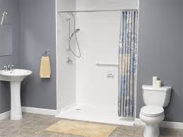 eastern michigan barrier free shower base handicap shower base