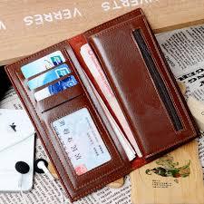 Money Clip Wallet Id Window New Slim Men Wallet Money Clip Leather Credit Card Holder Id