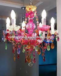 Multi Coloured Chandeliers Multi Color Decorative Chandelier 808 6 Buy Colorful