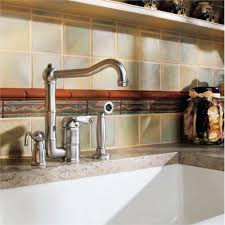 country style kitchen faucets beautiful single lever country kitchen faucet with sidespray and