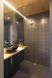 House Bathroom Modern Prefab Home That Seems To Levitate Above Ground