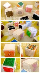 Making A Simple Toy Box by Diy Sensory Blocks A Wonderful Sensory Toy For Your Little One