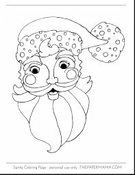 outstanding santa claus coloring pages with santa coloring page