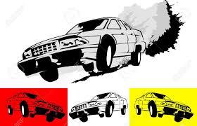 monster trucks clipart poster of the car monster truck vector illustration royalty free