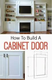 How To Build A Wall Cabinet by How To Build A Cabinet Door Free And Easy Plans From Https