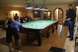 full size snooker table fun and relax area with full size snooker table and darts picture