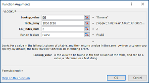 How To Create A Lookup Table In Excel How To Correct A N A Error Office Support