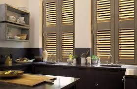 rustic window mirror with shutters vanity decoration