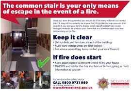 fire safety what you need to know scottish borders housing