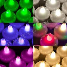 floating led tea lights floating led tea light 7 colours fish bowl balloon light for wedding