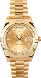 rolex president day date watches at bob s the pre owned rolex exchange