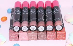 Lipstik Pixy Warna Merah baru pixy lip all colours review miharu julie