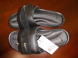 Men S Nike Comfort Slide 2 Mens Nike Comfort Slides Sandals Size 7 Black Silver Anthracite