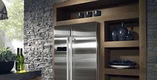 cuisine frigo americain meuble frigo americain