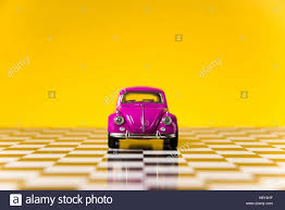 yellow volkswagen beetle royalty free izmir turkey november 21 2015 still life shot of a pink stock