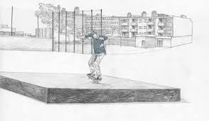 artist keith watts pays tribute to london skateboarding