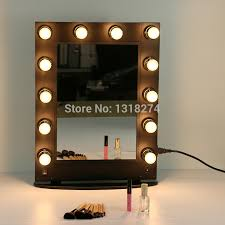 makeup mirror with led lights led lights vanity mirror dayri me