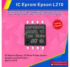 resetter epson l210 terbaru jual ic eprom epson l210 ic eeprom reset epson l210 resetter