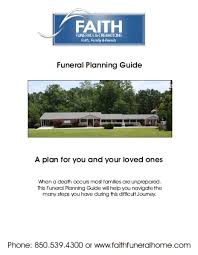 funeral planning guide faith funeral home crematory fl funeral home and cremation