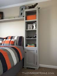 how to build bedroom storage towers hometalk