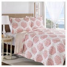 coral quilt set laura ashley target