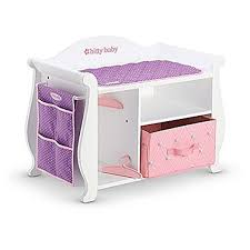 Dolls Changing Table American Bitty Baby Changing Table Storage 2015