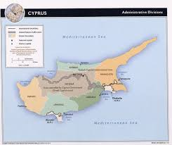 Map Of Cyprus Cyprus Map With Cities Blank Outline Map Of Cyprus