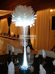 white feather balls balls flower balls wedding centerpieces