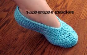 ladies u0027 ballet slippers hodgepodge crochet