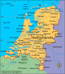 map netherlands travel maps of amsterdam and netherlands