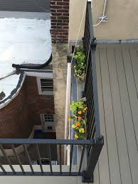 Banisters Flowers Railing Flowers 2