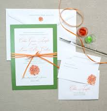 Layered Wedding Invitations Daisy Floral Layered Invitation Suite Watercolor Wedding