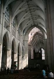 medieval york minster interior