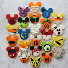 the partiologist disney themed halloween cookies