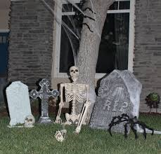 halloween graveyard ideas home design ideas