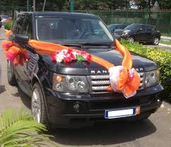 kit dã coration voiture mariage décoration voiture de mariage louer une voiture à abidjan