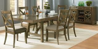 Farmhouse Dining Room Set Dining Tables Weathered Grey Dining Table Gray Round Dining