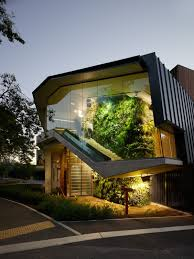 Indoor Vertical Gardens - the new adelaide zoo entrance featuring a stunning indoor