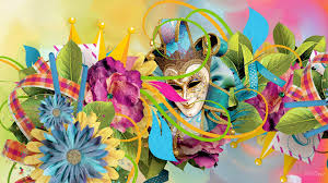 new orleans masquerade masks flower carnival colorful new orleans flowers celebrate brazil