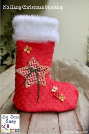free sewing pattern no hang christmas stocking free sewing