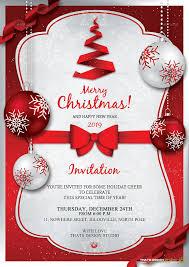 christmas party invitation templates eliolera com
