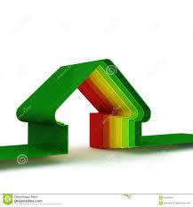 energy house energy saving concept stock illustration image