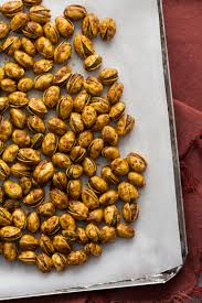 curry roasted pistachios the kitchn erin alderson photography
