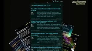 news widgets for android scrollable news widget